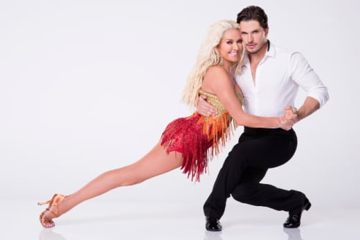 Erika Jayne and Gleb Savchenko