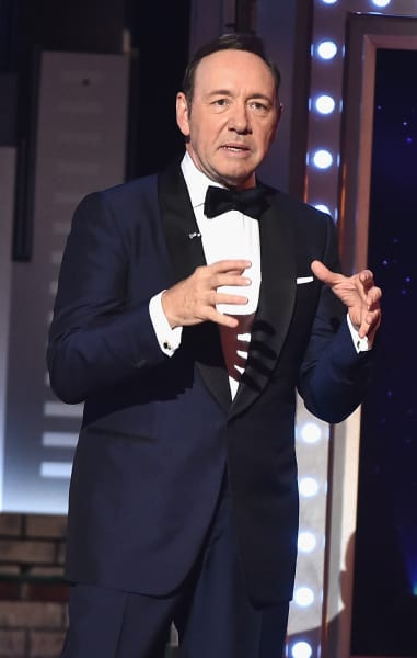 Kevin Spacey on a Stage