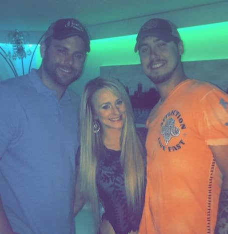 Leah Messer with Jeremy Calvert