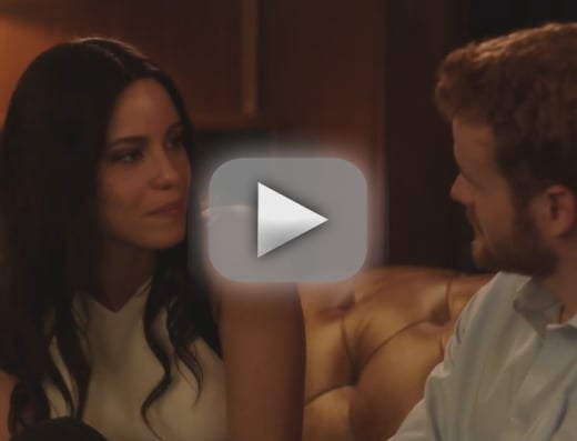 Meghan markle and prince harry shown in bed in steamy lifetime t