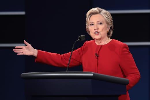 Hillary Clinton Debate Photo