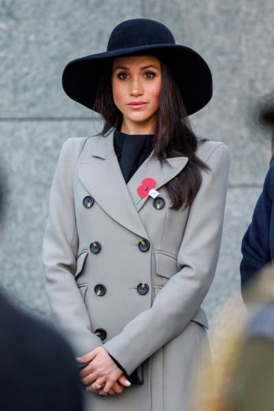 Meghan Markle with a Big Hat