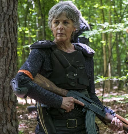 Carol on The Walking Dead Season 8