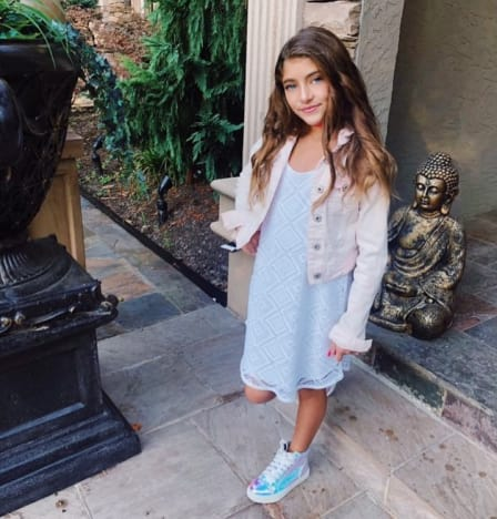 Audriana Giudice, First Day of Fourth Grade
