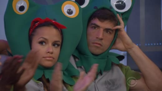 Two Toads On Big Brother