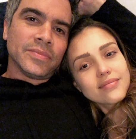 Jessica Alba and Cash Warren: Netflix and Chill
