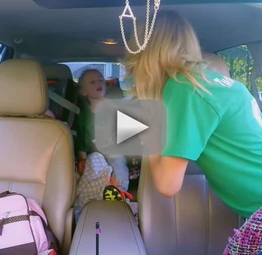 Leah messer has a massive freakout makes her kids cry