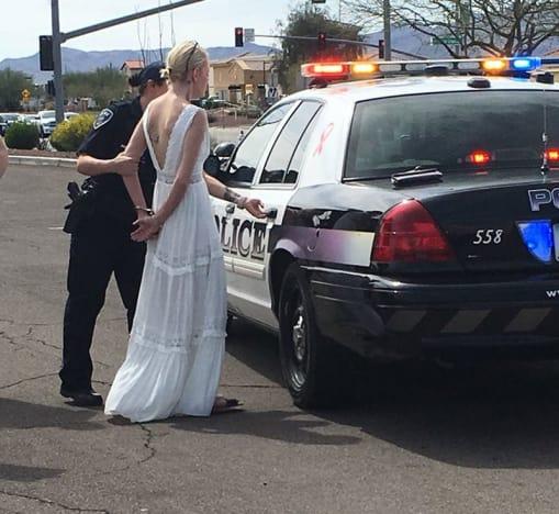 Arizona Bride Arrested for DUI