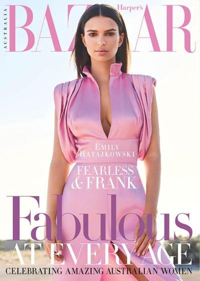 Emily Ratajkowski Covers Bazaar