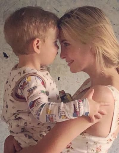 Ivanka Trump, Son Photo