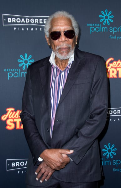 Morgan Freeman on a Red Carpet