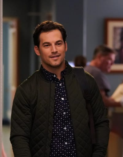Deluca on Grey's Anatomy