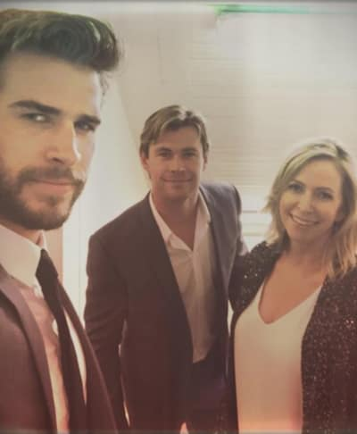 Liam Hemsworth, Family