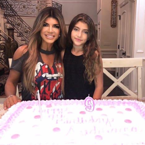Audriana Giudice and Teresa Giudice, 9th Birthday