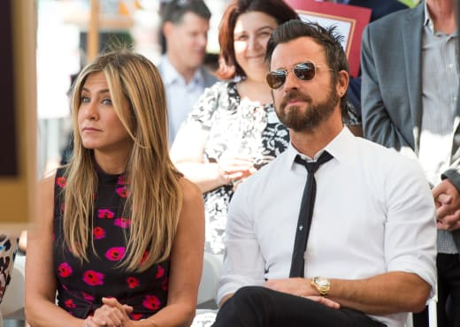 Jennifer Aniston & Justin Theroux In Happier Times