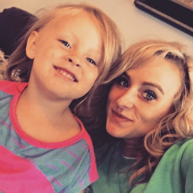 Leah messer with adalynn pic