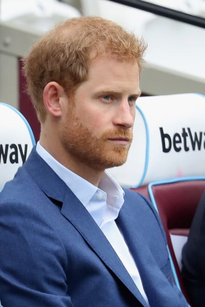 Prince Harry Gets Serious