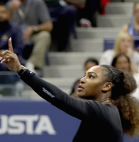 Serena Williams is Angry