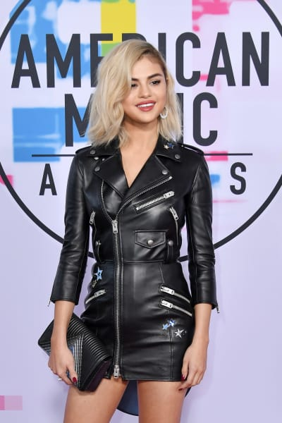 Selena Gomez at the 2017 AMAs