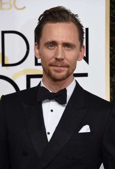 Tom Hiddleston at the Globes
