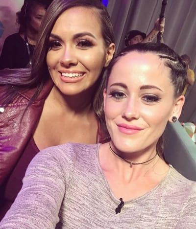 Jenelle Evans and Briana DeJesus