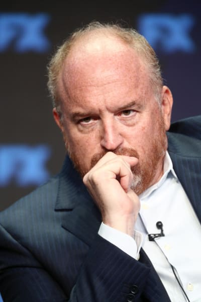 Louis CK Looking Concerned