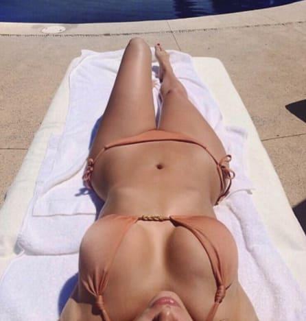 Kim Kardashian Bikini Throwback