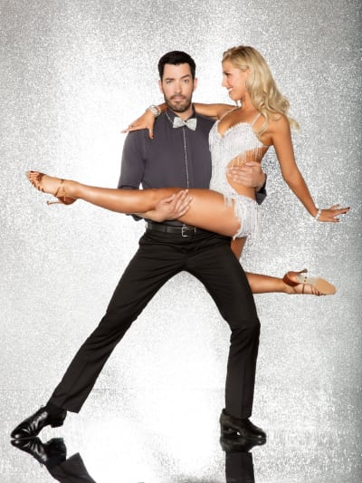 Drew Scott and Emma Slater