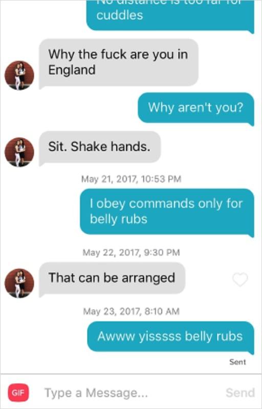 A little tit for tat please
