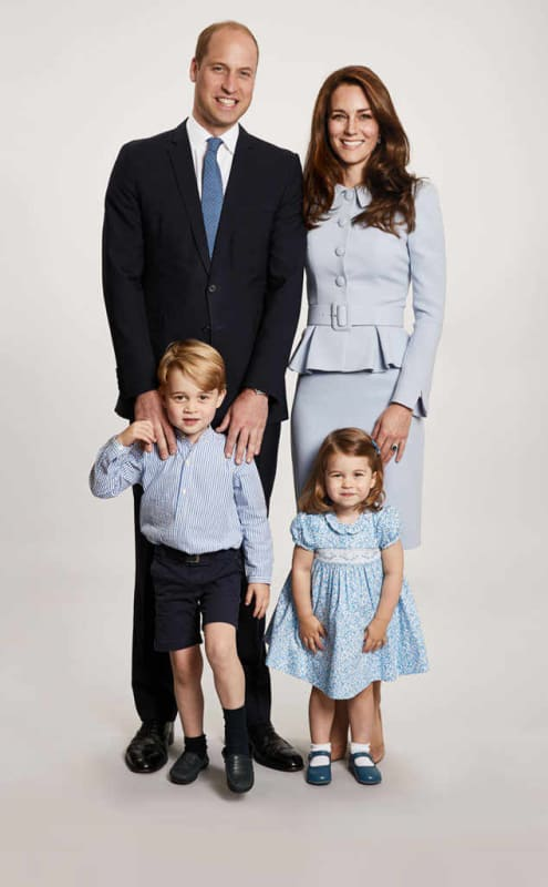 Royal christmas card
