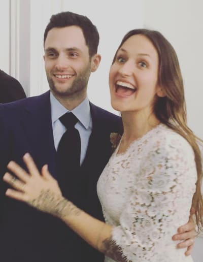 Penn Badgely and Domino Kirke are Married!