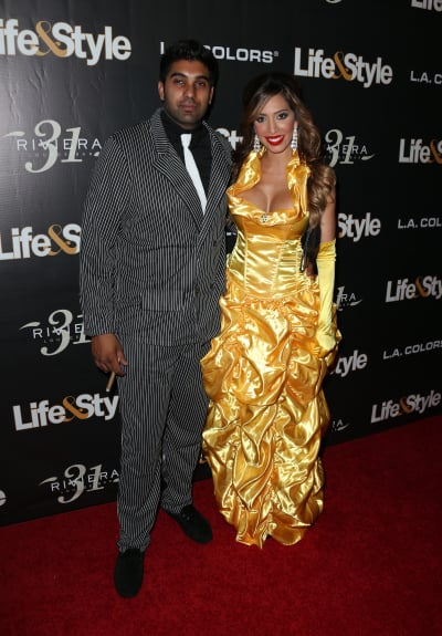 Farrah Abraham and Simon Saran: Life & Style Weekly's 'Eye Candy' Halloween Bash