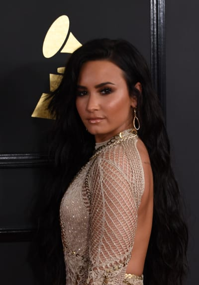 Demi Lovato Arrives