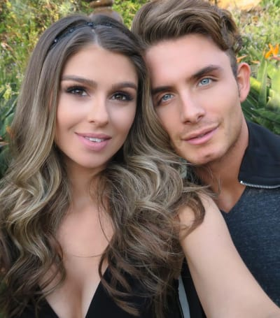 Raquel Leviss with James Kennedy