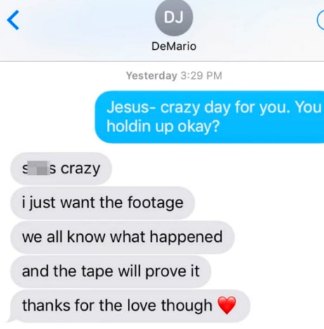 DeMario texts