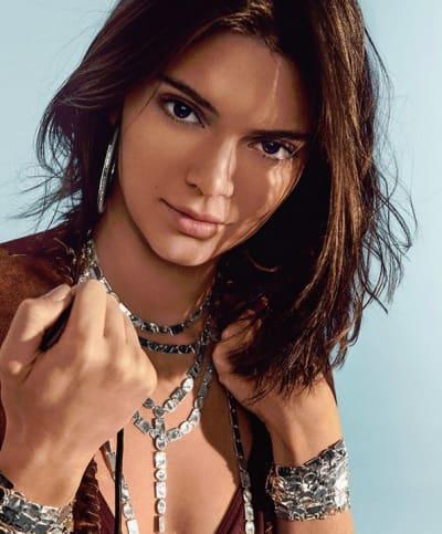Kendall Jenner in Festival Jewelry