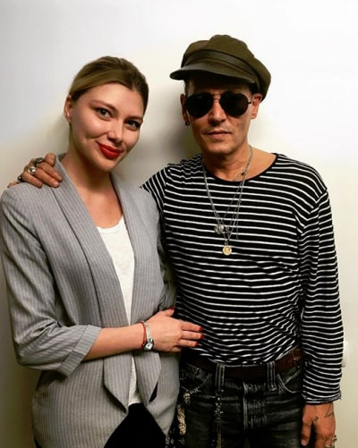 Johnny Depp and a Russian Fan