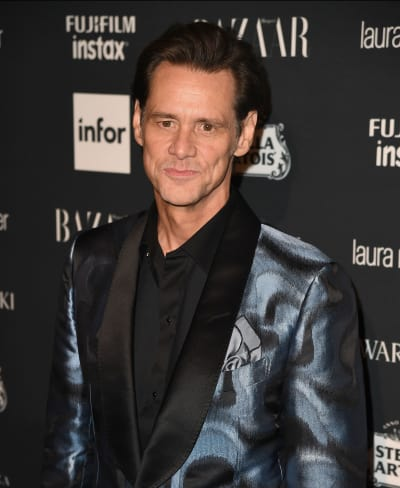Jim Carrey in a Fun Jacket