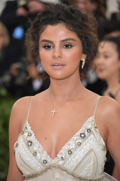 Selena Gomez at the MET