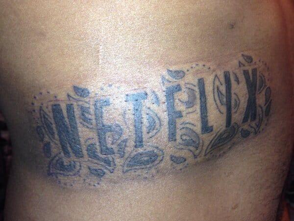 Netflix tattoo