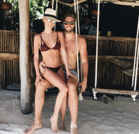 Kristin Cavallari and Jay Cutler Vacation Pic