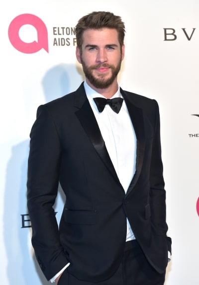 Liam Hemsworth in Tux