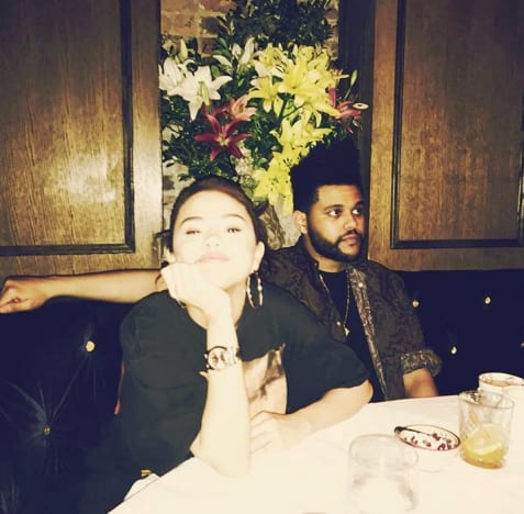 Selena Gomez and The Weeknd, Date Night