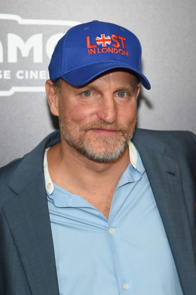 Woody Harrelson Smiles
