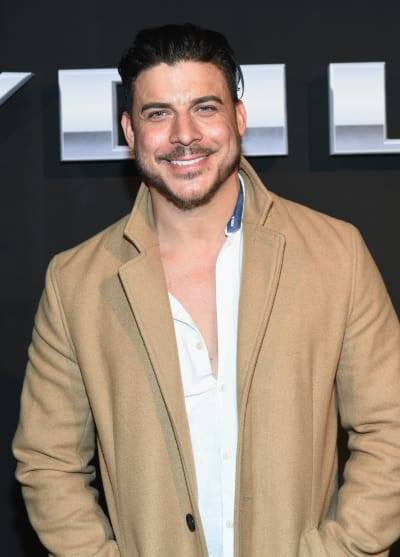 Jax Taylor in a Coat