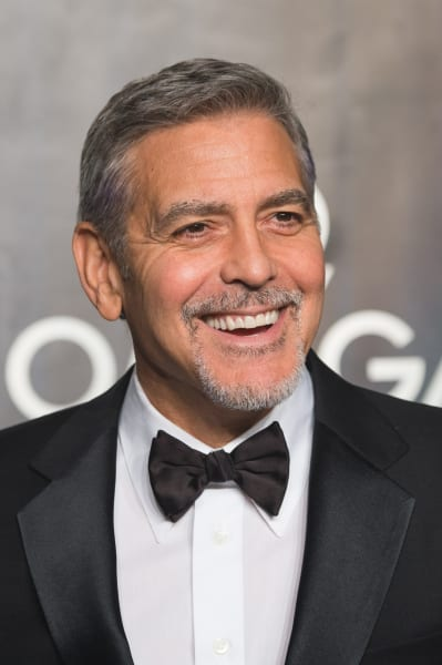 George Clooney Has a Nice Smile