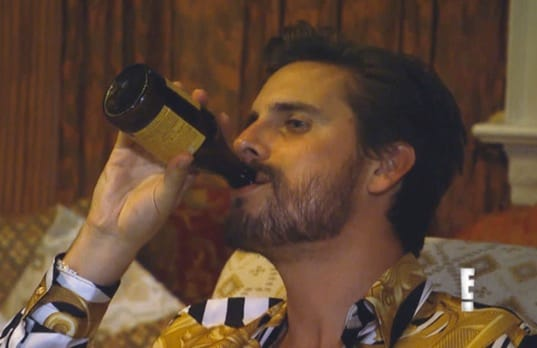 Scott disick drunk