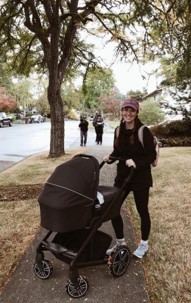 Audrey Roloff on a Walk