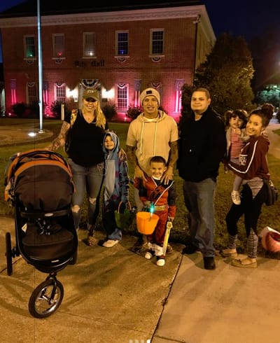 Kailyn Lowry, Javi Marroquin, Jo Rivera, kids, Halloween 2017