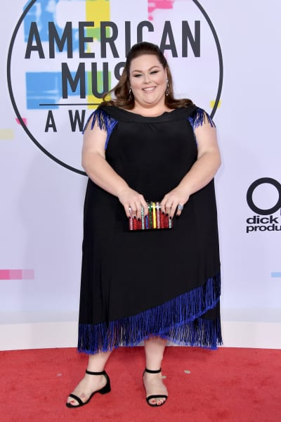 Chrissy Metz at 2017 AMAs
